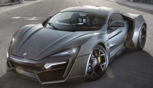 $3.4 million — W Motors Lykan Hypersport
